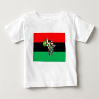 Camiseta De Bebé Panafricano soy más que el diseño del techo de