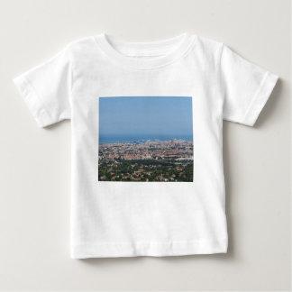 Camiseta De Bebé Panorama aéreo espectacular de la ciudad de