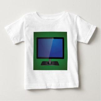 Camiseta De Bebé pantalla de la TV