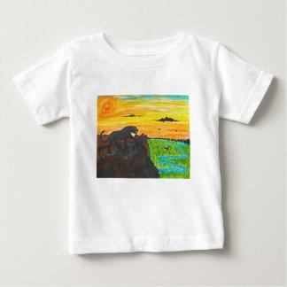 Camiseta De Bebé Pantera en el vagabundeo