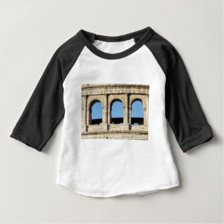 Camiseta De Bebé pared de tres arcos