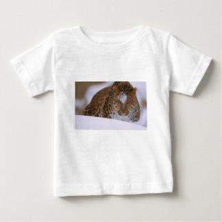 Camiseta De Bebé Pares raros de un leopardo de Amur sobre un