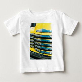 Camiseta De Bebé Parrilla amarilla