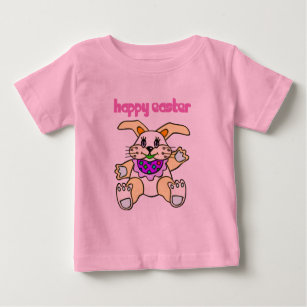 Camiseta De Bebé Pascua feliz