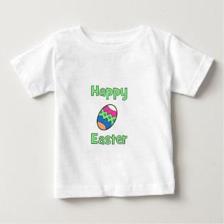 Camiseta De Bebé Pascua feliz con el huevo