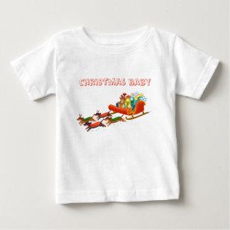Camiseta De Bebé paseo del trineo del dachshund