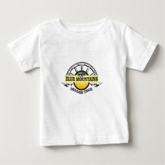 Camiseta De Bebé Paso azul del ot de las montañas