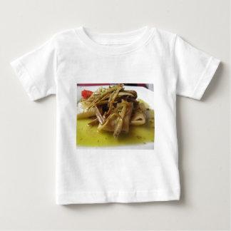 Camiseta De Bebé Pastas tradicionales de Paccheri del italiano con