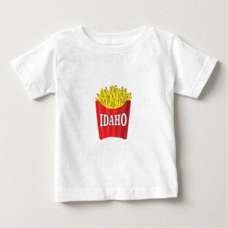 Camiseta De Bebé patatas fritas de Idaho