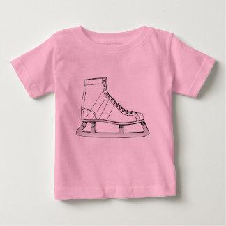 Camiseta De Bebé Patinaje artístico el patinaje de hielo
