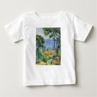 Camiseta De Bebé Paul Cezanne - vista del d'If de L'Estaque y de