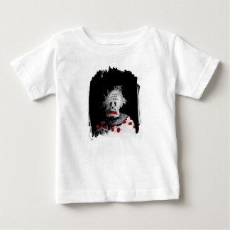 Camiseta De Bebé Payaso espeluznante