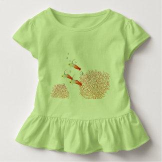 Camiseta De Bebé Peces gobio flama
