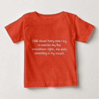 Camiseta De Bebé Pederastia