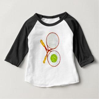 Camiseta De Bebé Pelota de tenis Sketch2