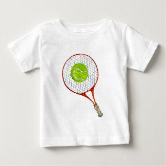 Camiseta De Bebé Pelota de tenis Sketch3