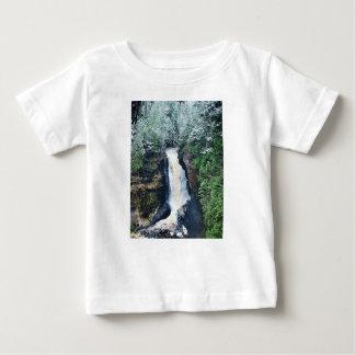 Camiseta De Bebé Península superior Michigan de las caídas de los