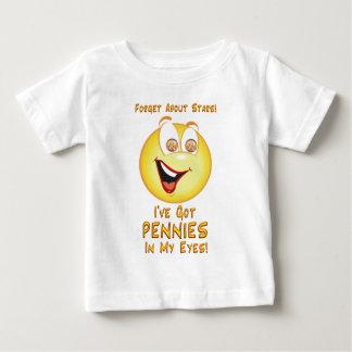 Camiseta De Bebé Peniques en mis ojos