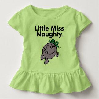 Camiseta De Bebé Pequeña pequeña Srta. Naughty de la Srta. el | es