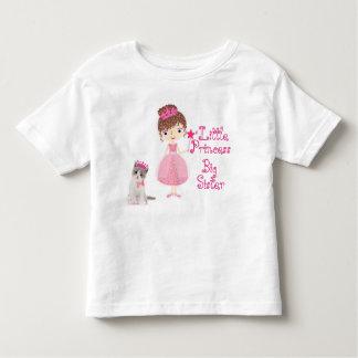 Camiseta De Bebé Pequeña princesa hermana grande