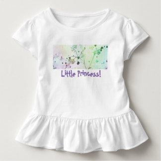 Camiseta De Bebé Pequeña princesa Toddle Tee el | rizado
