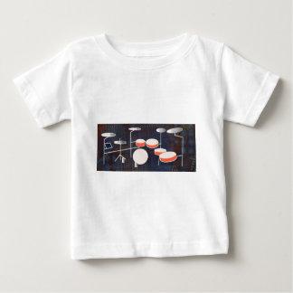 Camiseta De Bebé Percusión del color
