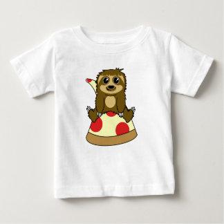 Camiseta De Bebé Pereza de la pizza