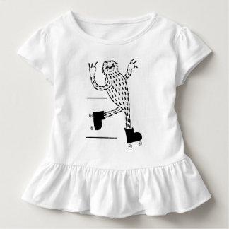 Camiseta De Bebé Pereza en pcteres de ruedas