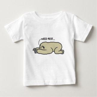 Camiseta De Bebé Pereza perezosa