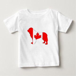 Camiseta De Bebé Perro de Canadá Terranova