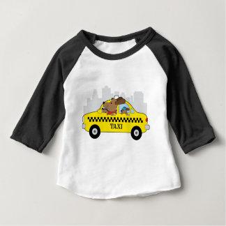 Camiseta De Bebé Perro del taxi de Nueva York