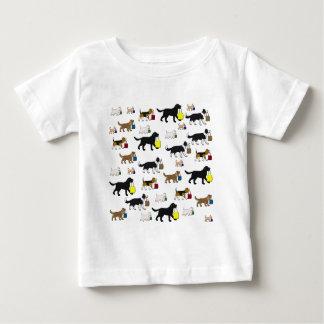 Camiseta De Bebé perros de las compras