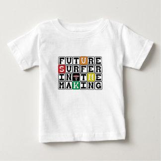 Camiseta De Bebé PERSONA QUE PRACTICA SURF FUTURA EN el ~ de