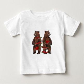 Camiseta De Bebé Pesca contra la corriente