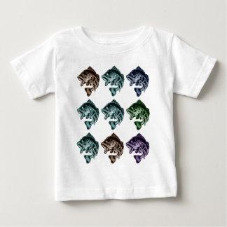 Camiseta De Bebé Pesca de la lubina