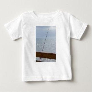 Camiseta De Bebé Pesca del embarcadero del cacao