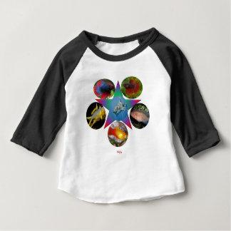 Camiseta De Bebé pescados, goldfish, carpa, pesca, mar, océano,