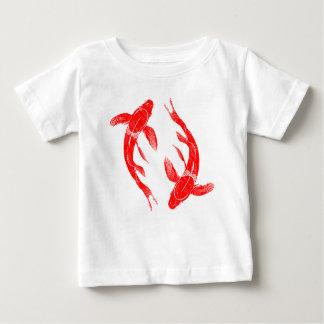 Camiseta De Bebé Pescados rojos de Koi
