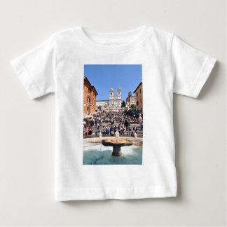 Camiseta De Bebé Piazza di Spagna, Roma, Italia