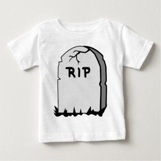 Camiseta De Bebé Piedra principal del rasgón