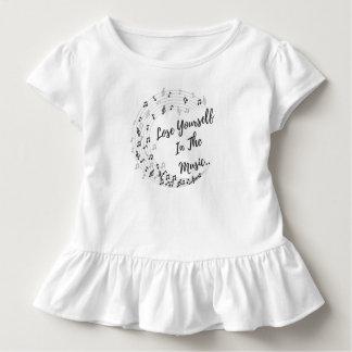 Camiseta De Bebé Piérdase en la música.