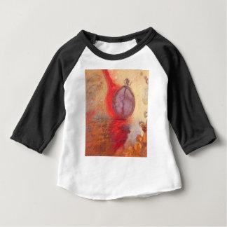Camiseta De Bebé Pintura al óleo del extracto de la danza del fuego
