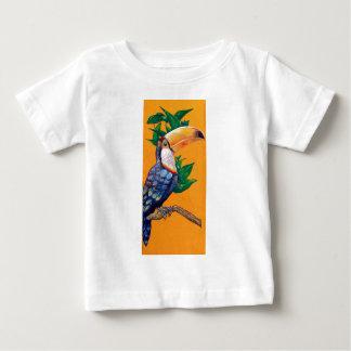 Camiseta De Bebé Pintura hermosa del pájaro de Toucan