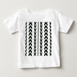 Camiseta De Bebé Pisada negra del neumático