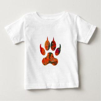 Camiseta De Bebé Pista del lobo