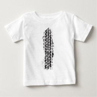 Camiseta De Bebé Pista del neumático
