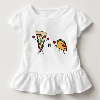 Camiseta De Bebé Pizza de salchichones CONTRA el Taco: Mexicano