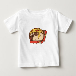 Camiseta De Bebé Pizza Pug-01