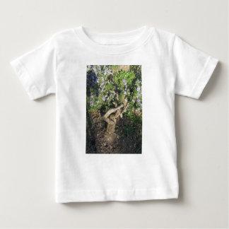 Camiseta De Bebé Planta de Rosemary con las flores en Toscana,