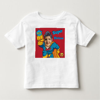 Camiseta De Bebé Plantilla personalizada super héroe de la foto de